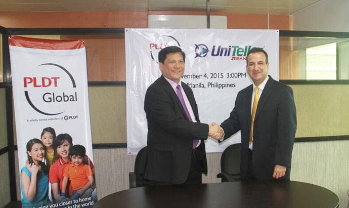 Uniteller handshake