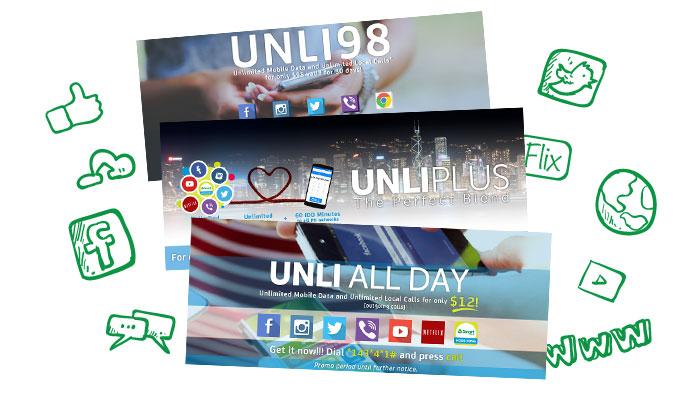 Unli services banner